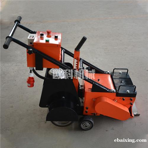 塑胶跑道铲削机铲削塑胶跑道专用设备旧场地铲削机